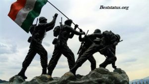 Thank You Message For Indian Army, Best Status, Quotes