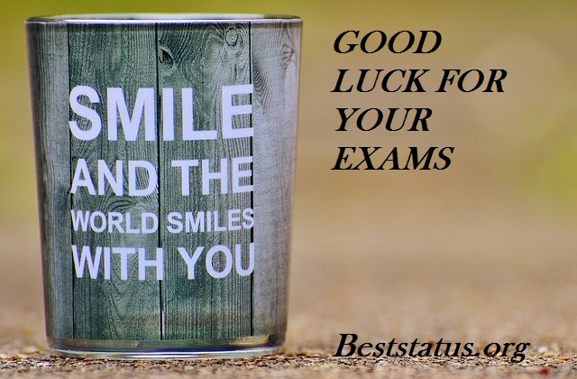 Good Luck messages for results