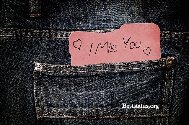 Missing you text messages for your girlfriend & boyfriend SMS Best status For Whatsapp