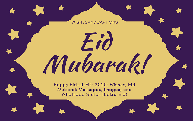 Happy Bakra Eid Mubarak Messages (Eid al-Adha) Wishes, Quotes, SMS, Wallpaper and Greetings