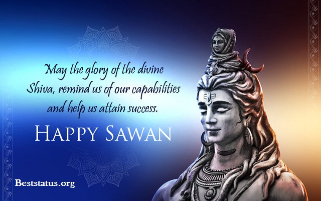Happy Sawan Somwar Quotes in Hindi 2020 Wishes Images, Quotes, Messages For Whatsapp & Facebook