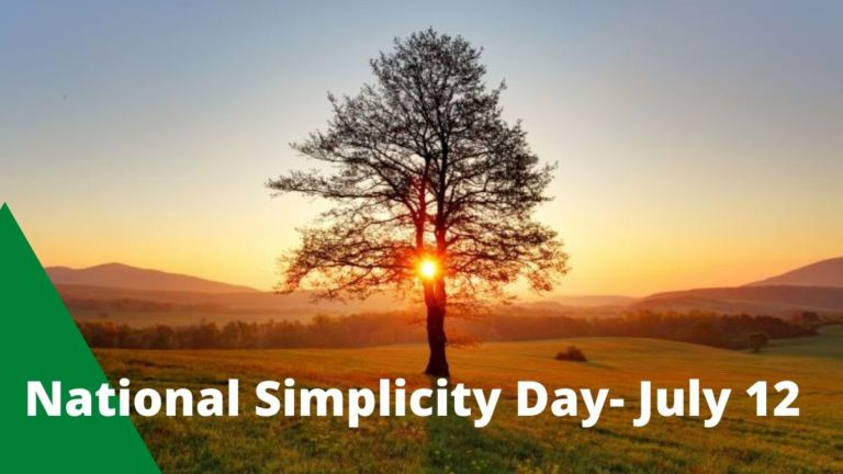National Simplicity Day Quotes – Significance, History and Best Status 2020