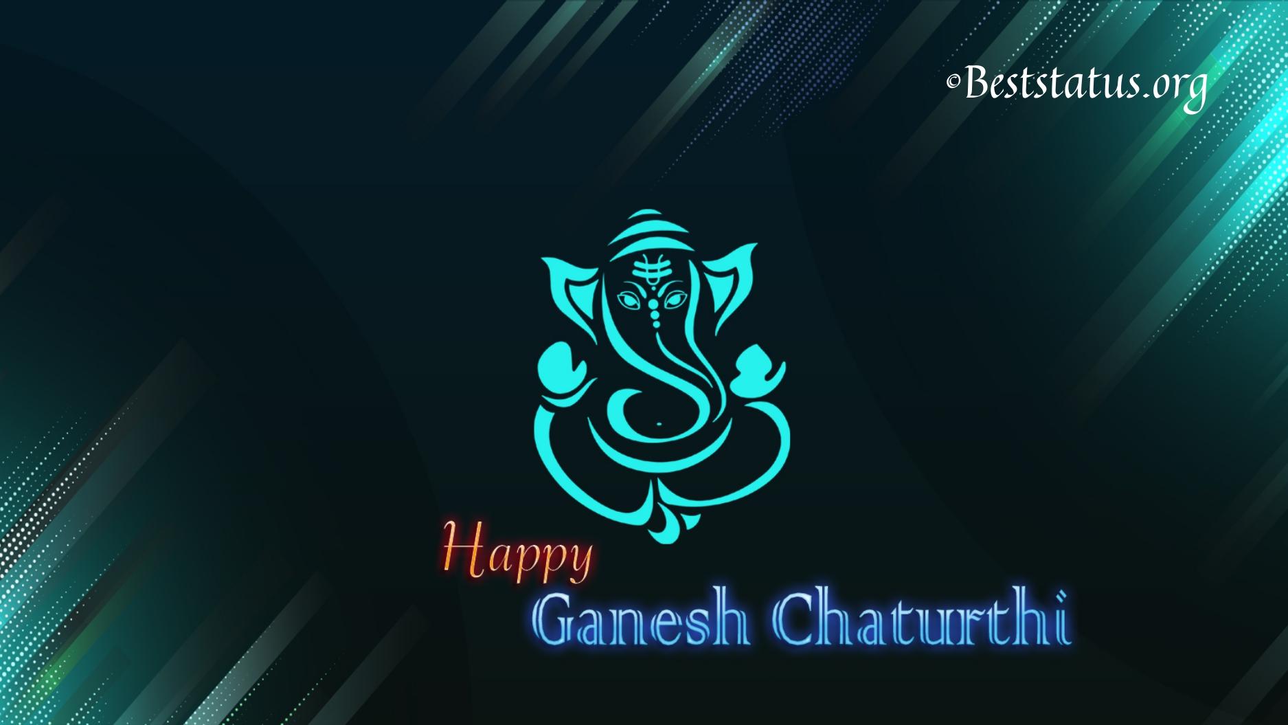 Ganesh Chaturthi Best Status   Happy Ganesh Jayanti messages, Wishes, SMS, Quotes 2021