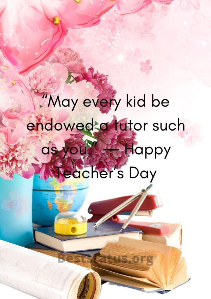 Happy Teachers Day Status 2020
