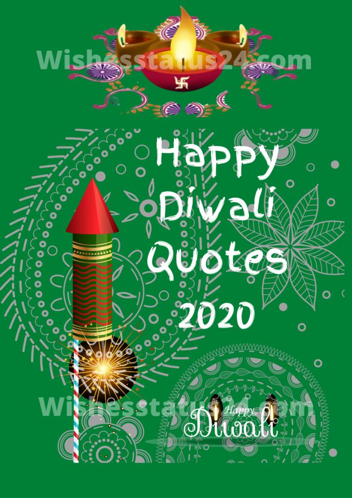 Happy Diwali Quotes 2020