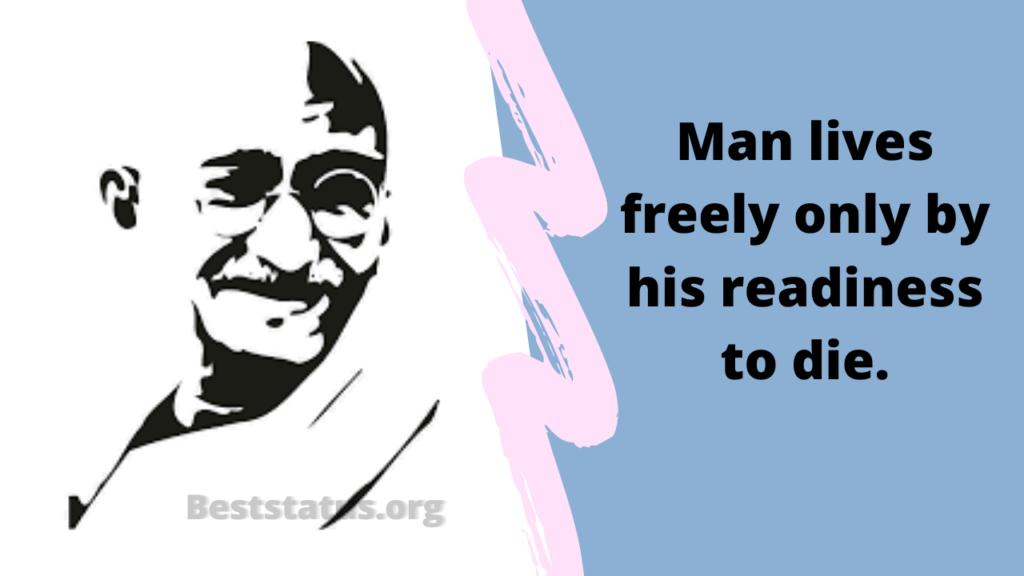 Mahatma Gandhi Jayanti Status, Quotes, SMS, Wishes 2020