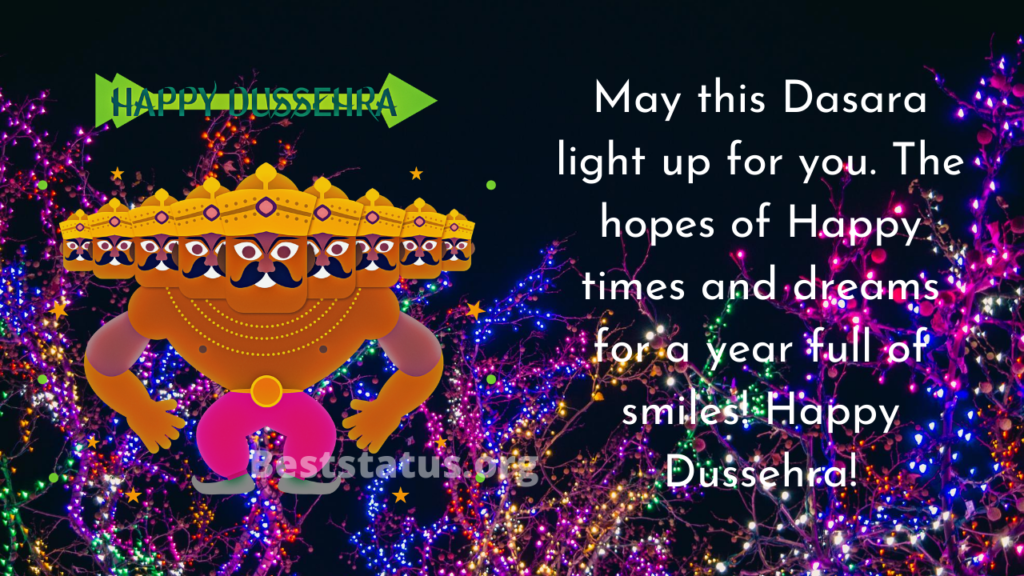 Happy Dussehra Status For WhatsApp, Message, Quotes, Wishes For Loved Once