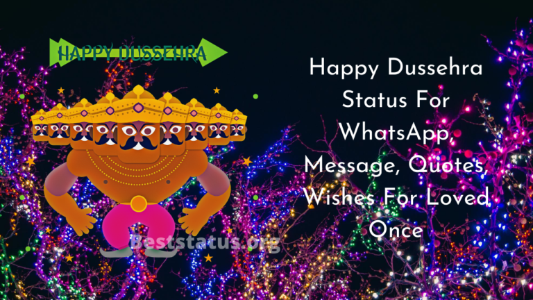Happy Dussehra message, Quotes, Wishes & Best Status For Whatsapp