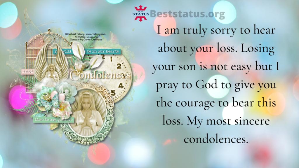 condolence message in hindi