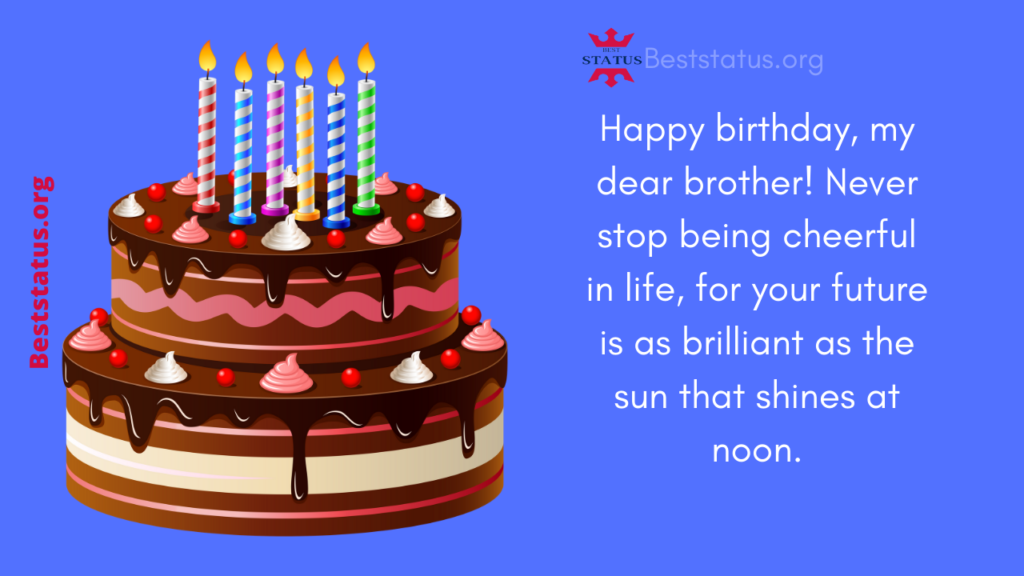 Happy Birthday Messages Brother