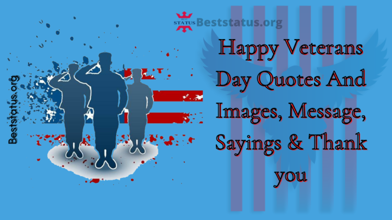 Happy Veterans Day Quotes And Images, Message, Sayings & Thank you