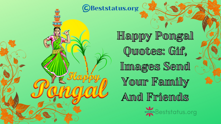 Happy Pongal Quotes: Gif, Images Send Your Family And Friends