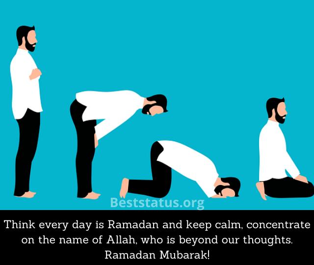 What does Ramadan Mubarak mean?