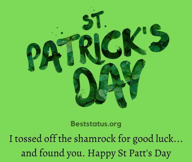 st patrick's day quotes and sayings