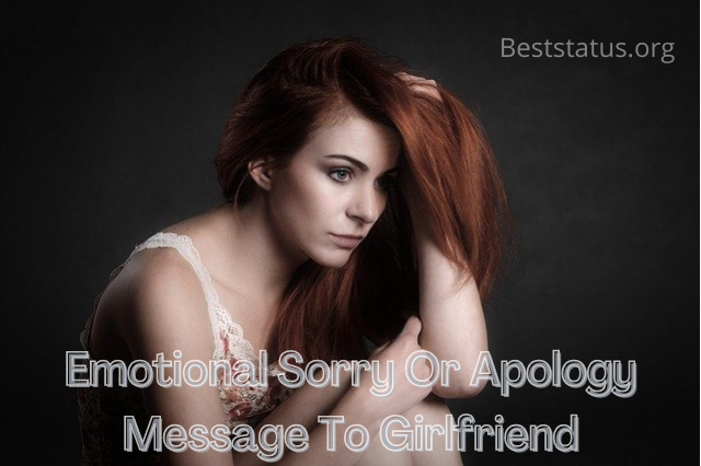 how to say sorry to gf in romantic way