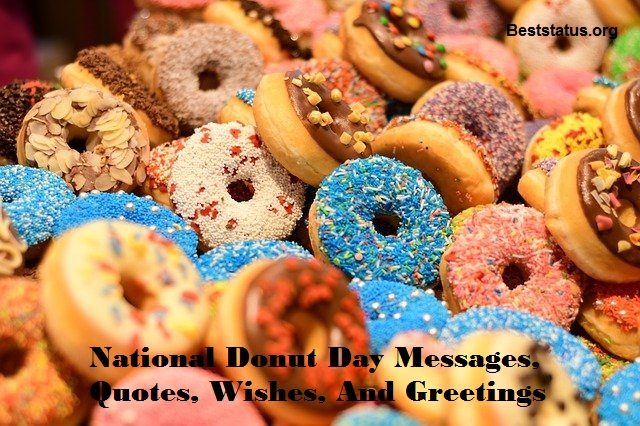 National Donut Day Messages, Quotes, Wishes, And Greetings