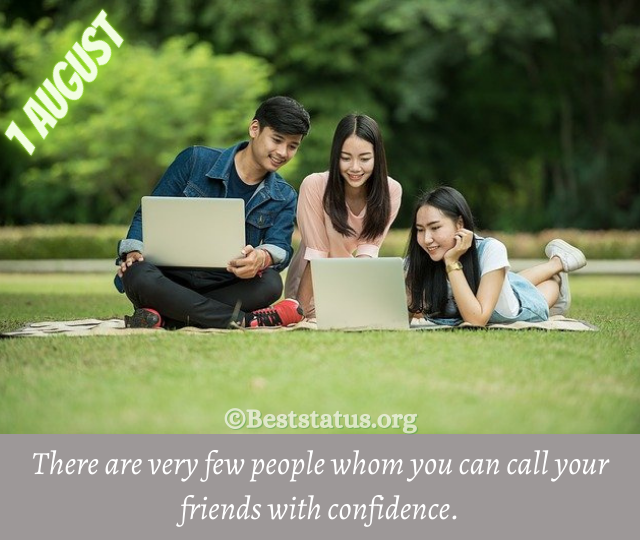 friendship day messages for love