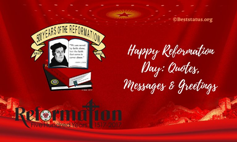 Happy Reformation Day: 15+ Quotes, Messages & Greetings